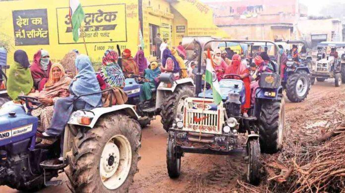 Kisan-Tractor-rally
