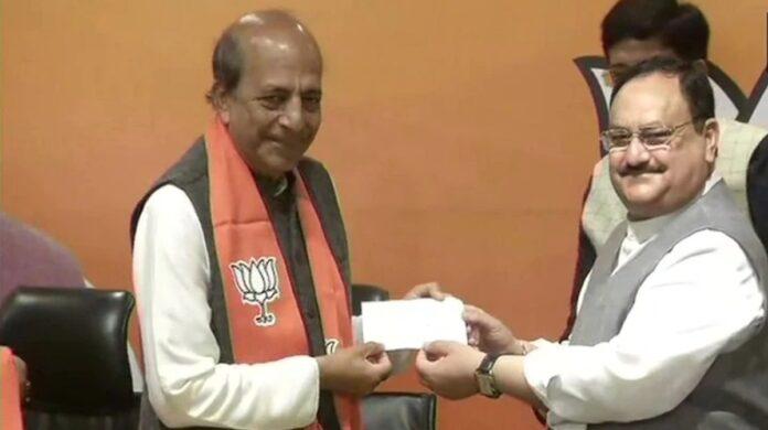 Dinesh Trivedi, BJP Join
