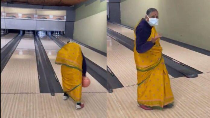 Grandma desi style