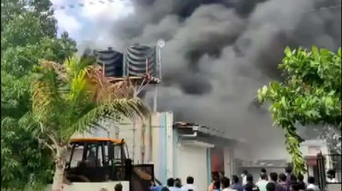 Chemical factory in Pune