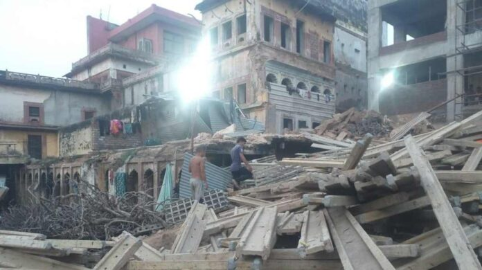 building collapsed