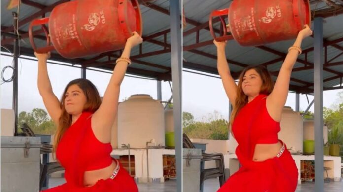 woman cylinder