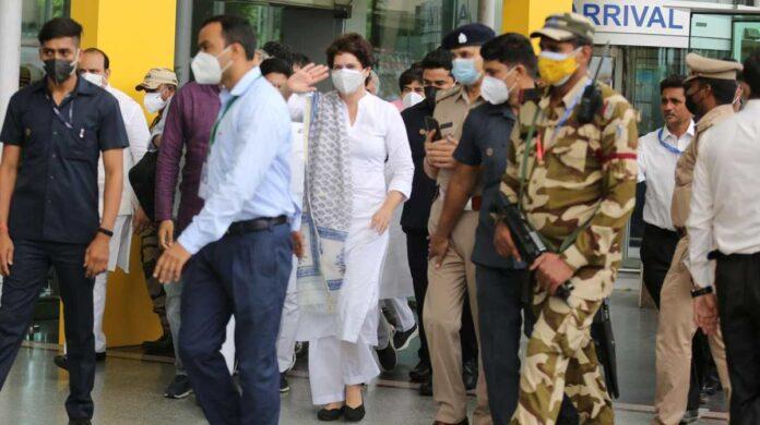 Priyanka Gandhi Lucknow visit