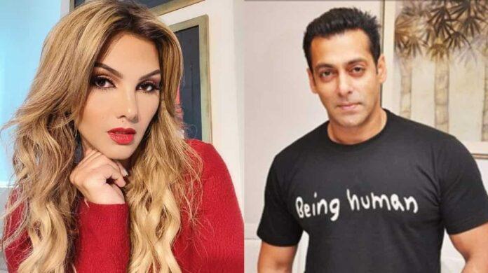 Somi Ali and Salman Khan