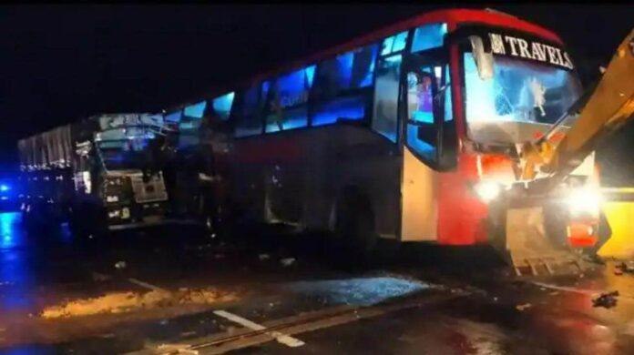 Barabanki bus accident