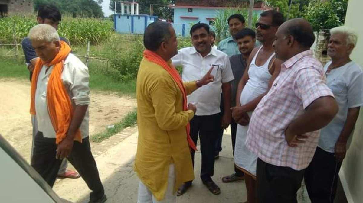 BJP Leader Om Prakash Tripathi