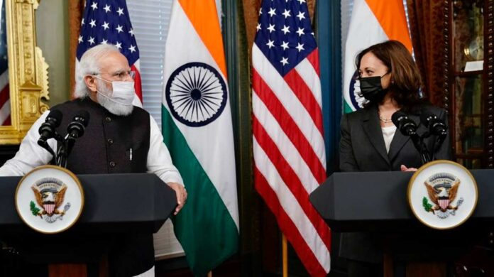 Narendra Modi & Kamala Harris