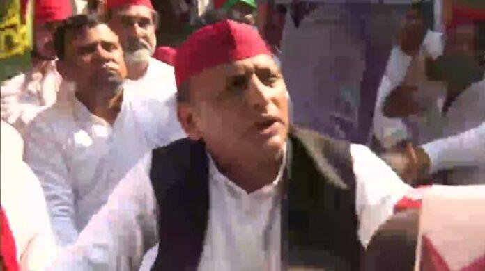 Akhilesh Yadav arrested